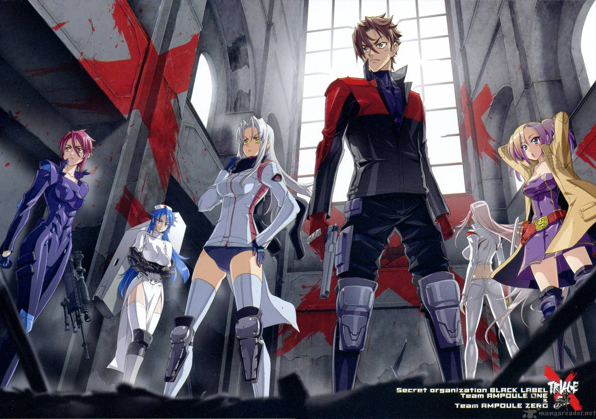 Time of the Season Spring 2015 Edition: TRIAGEX