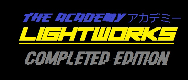 The ACADEMY Part 2: LIGHTWORKS (Complete Version)