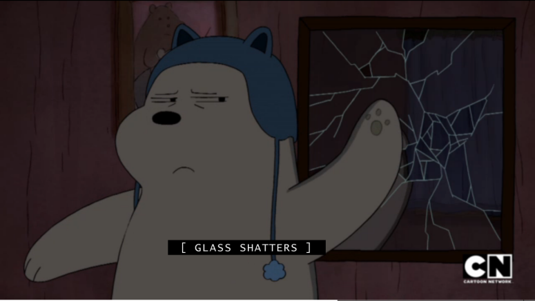 Ice Bear Not Afr-- *smashes*