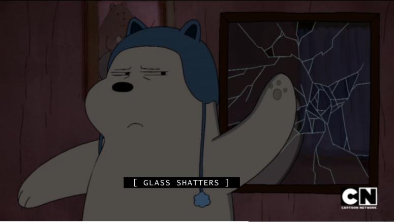 Ice Bear Not Afr-- *smashes*